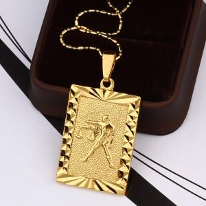 Zodiaka zīmes kuloni 3,5*2,5 cm, zelta pārklājums 24 karāti, ATLAIDE 40% (cena ar atlaidi-4.14€)