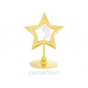 Zvaigzne ar SWAROVSKI kristālu