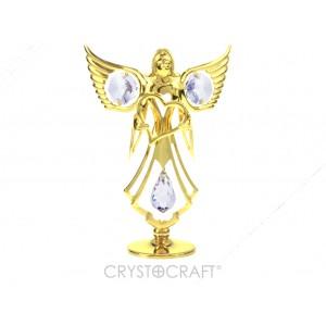 Eņģelis ar sirdi rokās, ar SWAROVSKI kristāliem