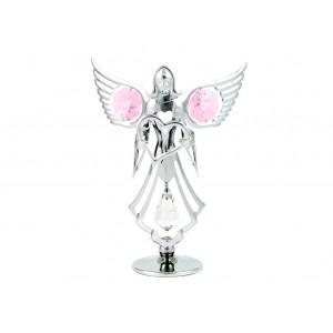 Eņģelis ar sirdi rokās, hroma pārklājums