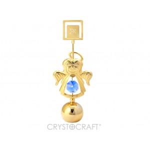 Eņģelītis ar SWAROVSKI kristāliem, piejamas 3 krāsas